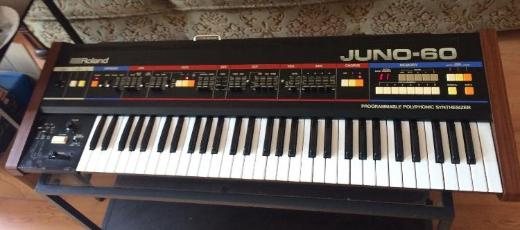 Roland Juno 60 Keyboard Synthesizer