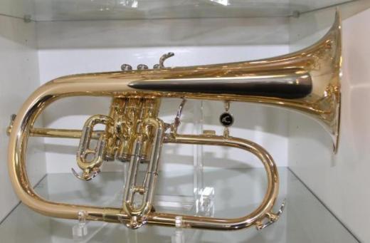 A. Courtois Paris 154R - Flügelhorn, Neuware, Goldmessing, Trigger inkl. Koffer - Hagenburg