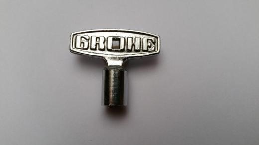Grohe Steckschlüssel 8 mm mit Mehrfachverzahnung für verschiedene Grohe Oberteile
