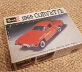 1965 CORVETTE  - H-1270- ungebauter REVELL Auto Modellbausatz  aus den 70er Jahren - Coesfeld