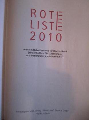 Rote Liste 2010 - Emsdetten