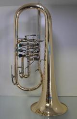Melton Meisterwerk Konzert Flügelhorn. Goldmessing Sonderanfertigung. Neuware