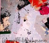 Schichtweise -  Acryl auf Leinwand 90 x 70 cm Original Ingrid Wolff-Bleekmann - Münster