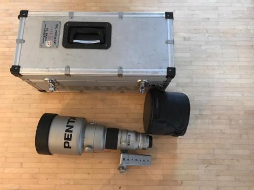 PENTAX SMC PENTAX-FA* 600mm 1:4 IF&ED Teleobjektiv