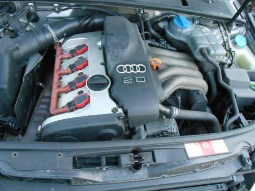 Audi A4 (8E2 8E5 B6 8ED, B7) 2,0 Benzin Motor ALT 130 PS 1 Jahr Garantie