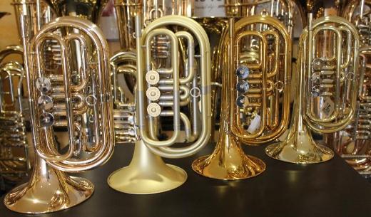 Melton Profiklasse Basstrompete in Bb, Mod. 129, Neuware inkl. Tasche - Hagenburg
