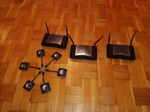 3 Stück Barco ClickShare CSE-200 Wireless Präsentationssystem