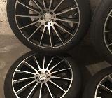 Mercedes GLE Coupe C292 AMG 22 Zoll Alufelgen Sommerreifen - Fichtenberg