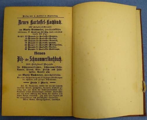 Antiquariat Kochbuch Regensburger Wurstküche - Raesfeld