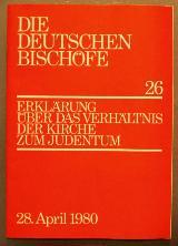 Erklärung über das Verhältnis der Kirche zum Judentum (1980)