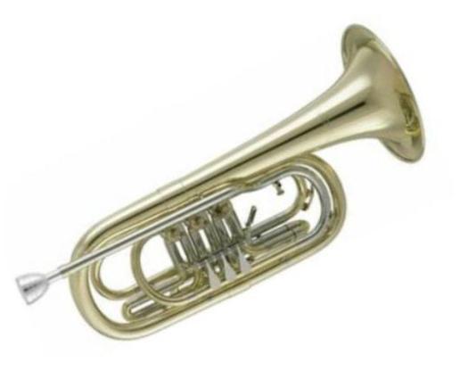 V. F. Cerveny Basstrompete in Bb inkl. Tonausgleichsmechanik. Neuware - Hagenburg