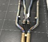Akrapovic BMW M6 F12 F13 Sportauspuff Coupe Cabrio Klappen - Frankfurt am Main