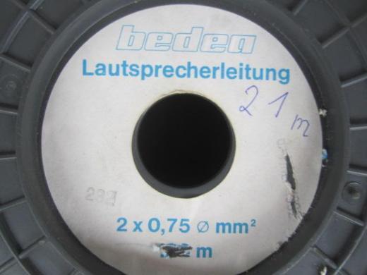 Leistenstecker + Lautsprecherkabel - Emsdetten