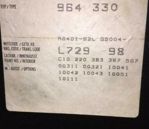 Turbo Porsche Sitze 964, 911, 944, 968 Innenausstattung Vollleder - Köln