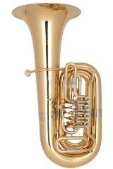 Miraphone 86 A Goldmessing Tuba in BBb inkl. Miraphone Gigbag. Neuware