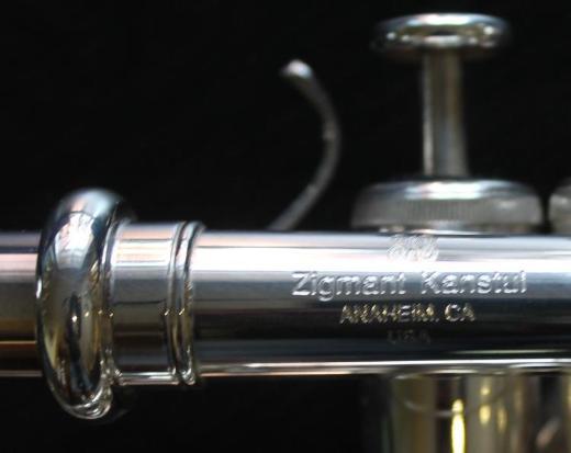 Neuwertige Zigmant Kanstul Hoch B/A/G Piccolo - Trompete, ZKT 1520 inkl. Koffer - Hagenburg
