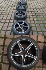 """Mercedes-AMG original Winterräder 18"""" C 43 AMG W/S/C 205 Michelin"""
