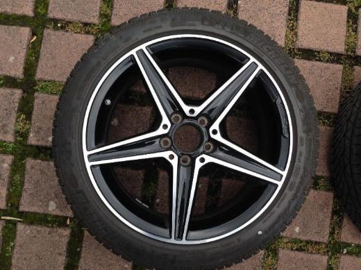 "Mercedes-AMG original Winterräder 18"" C 43 AMG W/S/C 205 Michelin - Bonn"
