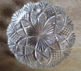 Sehr alte Kristallteller - Metelen