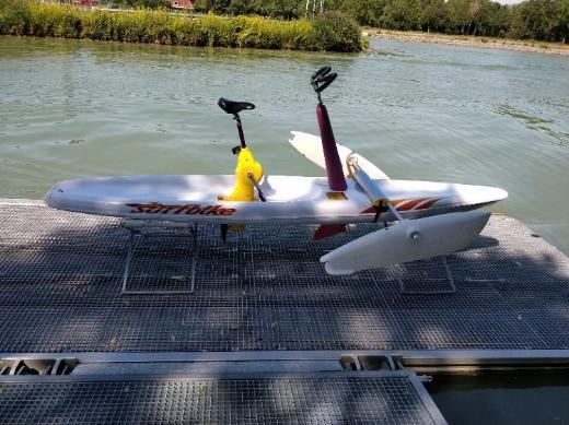 Surfbike / Wasserfahrrad / Surfbrett