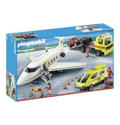 PLAYMOBIL® Bergrettung Mega-Set 5059 und PLAYMOBIL® 4856 RC-Modul-Set Plus