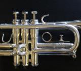 GETZEN D/Es(Eb) - Trompete, U.S.A., versilbert inkl. Koffer und Papiere - Hagenburg