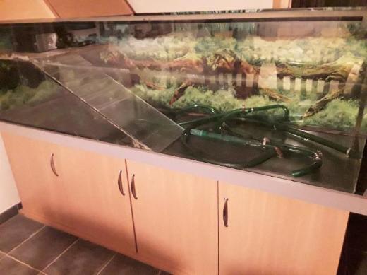 Aquaterarium 700 ltr incl. Zubehör - Dülmen