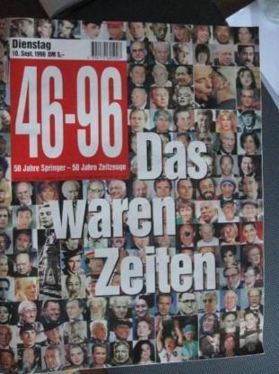 46 - 96 , 50 Jahre Springer,Sonderausgabe