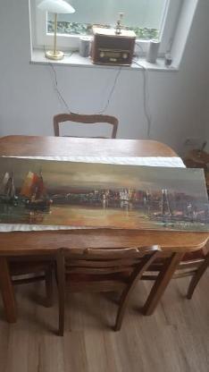 Ca 50 Jahre altes Gemälde von J Eggert - Bocholt