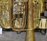 Deutsche B - Tuba, Aug. Clemens Glier Markneukirchen - Hagenburg