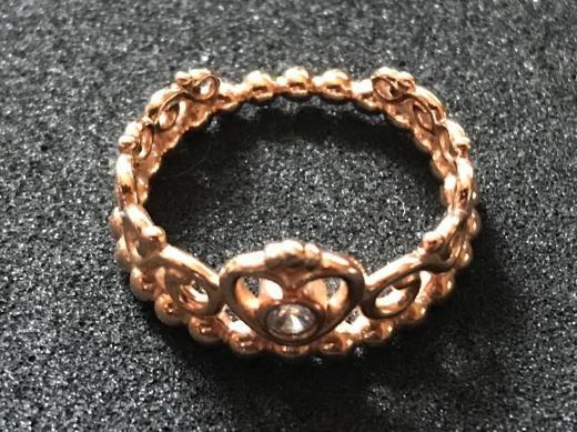 PANDORA, Princess Tiara Crown Ring, Gr. 50, roségold