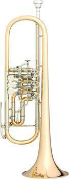 J. Scherzer Profiklasse Konzert -Trompete in B, Kölner Modell 8218 W- L, Neuware