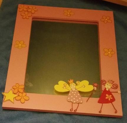 Kinderzimmerspiegel - Mädchenspiegel