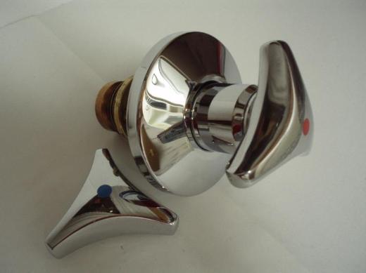 """Grohe Trecorn Unterputz Oberteil 1"""" (DN 25) wahlweise mit roter oder blauer Farbmarkierung, -- neuwertig"""
