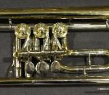 August Knopf Markneukirchen B - Konzert - Trompete inkl. Koffer - Hagenburg