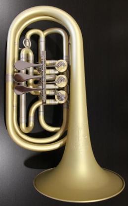 Melton 129 Elaboration Basstrompete in Bb, Sonderanfertigung - Hagenburg