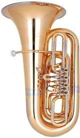 Miraphone 91A Goldmessing Tuba in B. Neuware