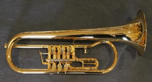 Kühnl & Hoyer 7.11 B - Konzert - Flügelhorn echt vergoldet. Neu
