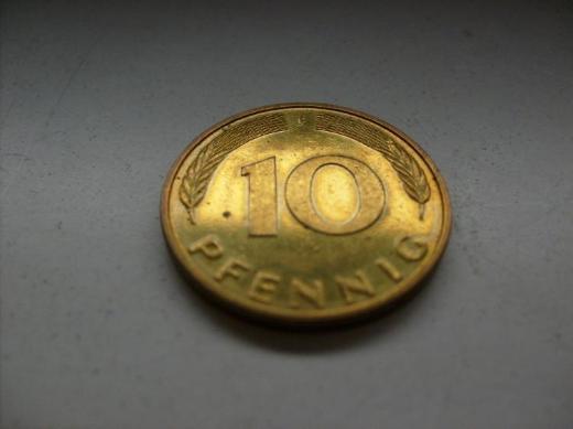 10 Pf 1996 F fast stgl
