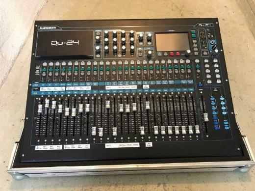 Digitaler Mixer Allen & Heath Qu-24 Chrome