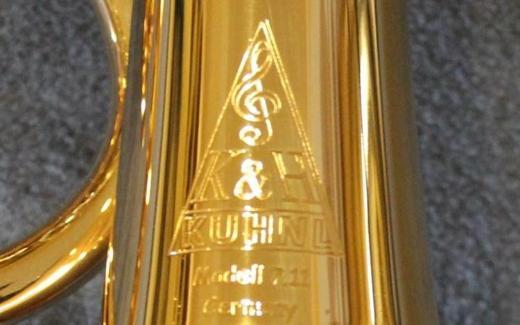 Kühnl & Hoyer 7.11 B - Konzert - Flügelhorn echt vergoldet. Neu - Hagenburg