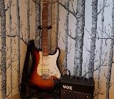 E-Gitarre Cruzer by Crafter inkl. Zubehör, perfekt für Einsteiger - Bocholt