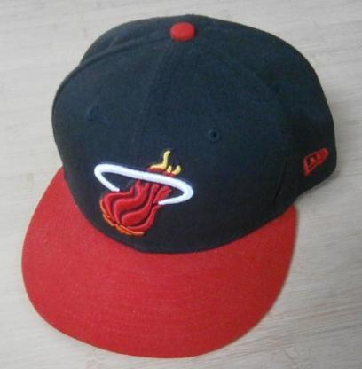 Original New Era Cap Miami Heat Gr. 7 1/8 Neu