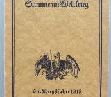 Conrad Ferdinand Meyers Stimme im Weltkrieg. 1915 - Münster
