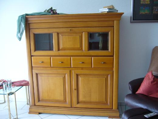 Highboard Kirschbaum furniert