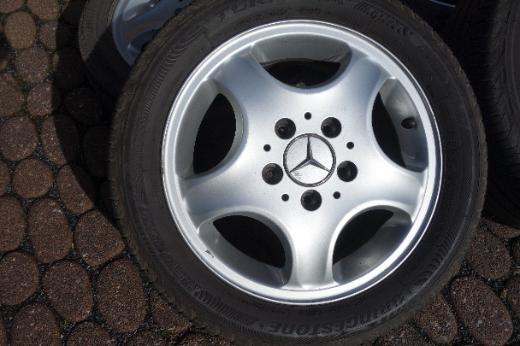 Original Mercedes Felgen + Sommerreifen für Mercedes A-Klasse Typ 168 - Nottuln