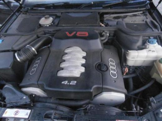 Audi A8 S8 (4D2 4D8) 4,2 V8 Motor Benzin AHC 340 PS 1 Jahr Garantie - Gronau (Westfalen)