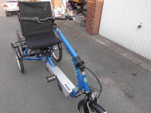 Komfortables und stabiles Dreirad NAGELNEU zu verkaufen - Münster