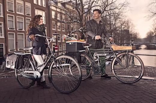 """Fietsklik """"Urban Office"""" Fahrradtasche Laptoptasche Umhängetasche Gepäckträgertasche versandfrei kaufen - Münster"""