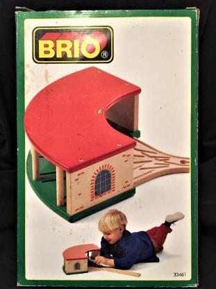 BRIO 33461 Ringlokschuppen – OVP, unbespielt - NEU!